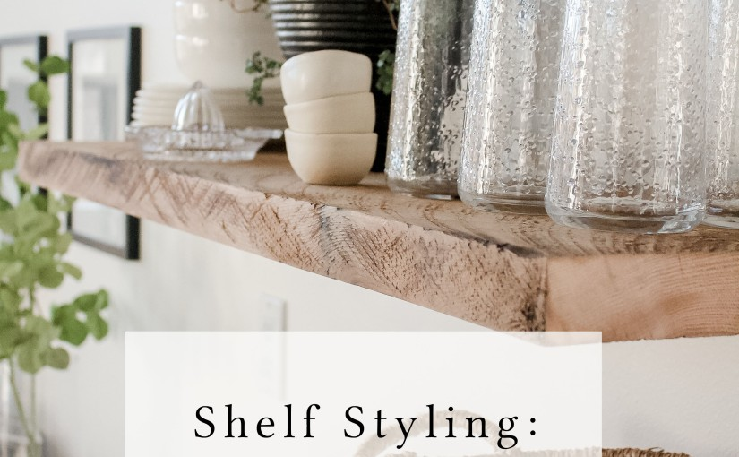 Shelf Styling – My Styling Process